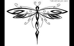 dragonfly tattoo | 12900-dragonfly-tattoo-pattern5-pe-polynesian-tattoos-tattoo-design ...