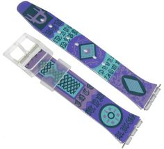 17mm Purple Print Design Watch Band for Swatch- FREE SPRING BARS - http://www.bestwatchdeals.co/women/watch-bands-women/17mm-purple-print-design-watch-band-for-swatch-free-spring-bars/ #17mm, #Band, #Bars, #Design, #For, #Free, #Print, #Purple, #Spring, #Swatch, #Watch