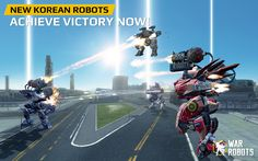 """War Robots v3.2.0 (Mod)   War Robots v3.2.0 (Mod)Requirements:Android 4.1 and upOverview:Walking War Robots is an action-packed multiplayer game with 6 vs. 6 team battles in real-time! Join the ranks of the Metal Warriors!  War Robots is an action-packed multiplayer game with 6 vs. 6 team battles in real-time! Join the ranks of the Metal Warriors!  """"If you are looking for something new and love robots and multiplayer battles it's worth the download to check it out since initially it wont…"""