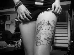 New studio ghibli tattoo!  #studioghibli #tattoos #bodymodification