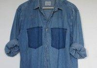 Denim Shirt DIY1