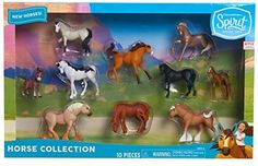 {NEW} Spirit Riding Free 10 Mini Collectible Horse Collection Toys For Girls, Kids Toys, African Jungle Animals, Horse Age, Horse Birthday Parties, Set Honey, Free Horses, Walking Horse, Barbie Doll Accessories
