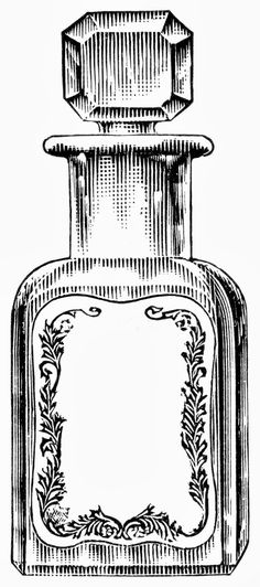 Sweetly Scrapped: Free Black & White Digi - Apothecary Jars/Bottles