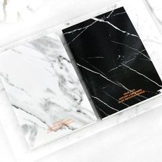 Our Marble Planner is the follow-up to our massively popular Marble Notebook. Elegant and luxurious, the Marble Planner features metallic copper pages and copper foil printing throughout. Open-dated a