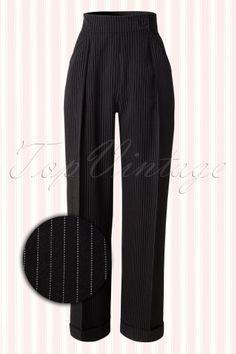 Miss Candyfloss Abbie Lee Black and White Pants 131 14 13580 20141015 Candyfloss, Black And White Pants, Types Of Fashion Styles, Retro Vintage, Harem Pants, Feminine, Sweatpants, Legs, Chic