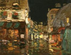 Night Monmartre,   Bato Dugarzhapov