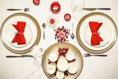 Tabletop for Christmas with diy inspirations. By Luna & The Table