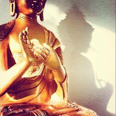 Buddha statue photo, Photograph of Bronze Buddha with beautiful light and shadow, Buddhism decor, Buddha photo, Buddhism art