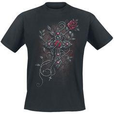 T-shirt, Virgin Angel, Spiral - Sweden Rock Shop, 199 SEK (print back too, mens' size small, as hoodie too)