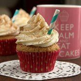 Cinnamon Dolce Latte Cupcakes