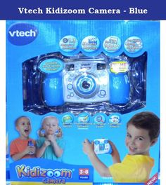 "Vtech Kidizoom Camera - Blue. Smile and say ""cheese""! With 4-in-1 endless fun, the KidizoomTM Camera Blue from VTech® allows your child to become an instant photographer and movie director with the press of a button. Your child's creativity will come alive as they learn to take and edit their photos with wacky effects. They can also shoot their own video movies or play 3 cool games right on the camera. With storage of up to 1000 photos, and the ability to connect to a computer, your child..."