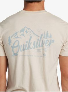 quiksilver, Keep It Green T-Shirt, PARCHMENT (tec0) Outdoor Apparel, Surf, Mens Fashion, Inspired, Tees, Mens Tops, T Shirt, Moda Masculina, Supreme T Shirt