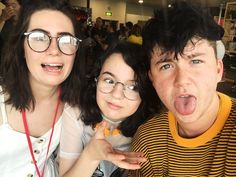 dodie, hedy, and miles :D