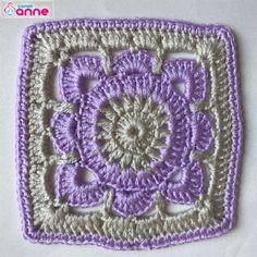 Crochet Motif, Knit Crochet, Crochet Woman, Mandala, Blanket, Knitting, Anne, Women, Crocheted Afghans