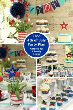 Aspire to throw a Pinterest-worthy 4th of July party? Let one of Enjoius's professional event stylists do the planning.
