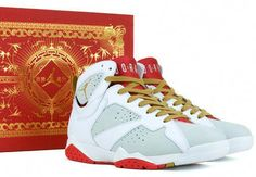 938002f3643d04 Year of the Rabbit Air Jordan 7  Sneakers Garra