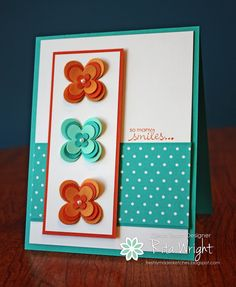 Rita's Creations: Stampin' Up! Floral Fusion