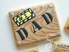Father's Day Cookie Tutorial