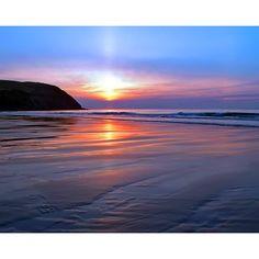 Beach Background via Polyvore