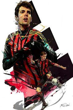 Best Football Players, Football Boys, World Football, College Football, Football Player Drawing, Soccer Drawing, Ac Milan Kit, Milan Wallpaper, Milan Football