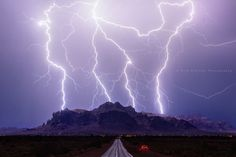 TVN Photo of the Day: Amazing lightning photo captured at 12:50 a.m. on July 3rd, 2015 by storm chaser and photographer Mike Olbinski. This was taken in Apache Junction looking east towards the Superstition Mountains, one of the most iconic places in Arizona. Follow Mike on Facebook: Mike Olbinski Photography