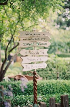 handmade wedding signs http://www.weddingchicks.com/2013/08/28/old-spanish-wedding-ideas/