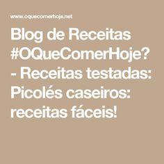 Blog de Receitas #OQueComerHoje? - Receitas testadas: Picolés caseiros: receitas fáceis!