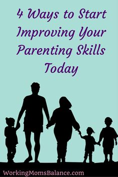 Parenting is hard. We will always have bad days and we'll probably never know if we're doing it right. But we can always take small steps to improve. We can become better parents every day. Here are a few ideas for how.