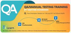 #QualityAssurance processes gained significance in a highly competitive market and there are good #opportunities for #QA Professionals. Participate in the QA Live #training program organized by leading #QATesting training providers in the world, #iTeLearn.  Click here for more details.  http://itelearn.com/qa-hp-alm-jira-live-training