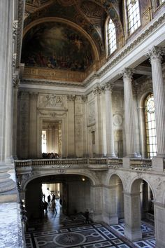 Decor Design Review - Royal chapel of the Palace of Versailles.