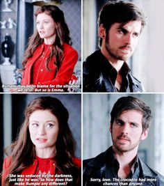 """#OnceUponATime 5x06 """"The Bear and the Bow"""" - Belle and Hook"""