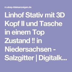 Linhof Stativ mit 3D Kopf II und Tasche in einem Top Zustand !! in Niedersachsen - Salzgitter | Digitalkamera & Zubehör gebraucht kaufen | eBay Kleinanzeigen
