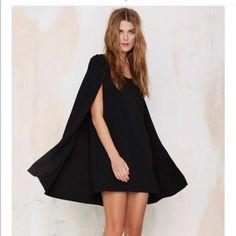 Nasty gal cape dress sz small Brand new w tags Nasty Gal Dresses