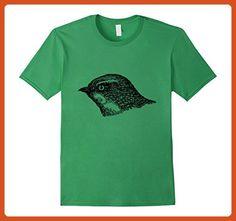 Mens European Sand Martin Bird Print T-Shirt Large Grass - Animal shirts (*Partner-Link)