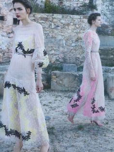 fashionlust ~ Valentino S/S 2012 Ad Campaign photographed by Deborah Turbeville