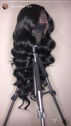 Lace Front Black Wig full lace Lace hair real hair wig stores – dianawigs The Effective Pictures We Grey Hair Wig, Lace Hair, Hair Color For Black Hair, Hair Dye, Wig Styles, Curly Hair Styles, Natural Hair Styles, Natural Beauty, Real Hair Wigs