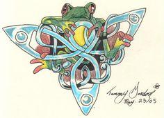 celtic frog