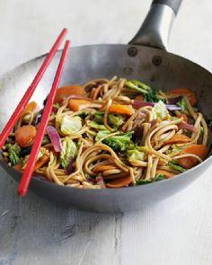 Low FODMAP Veggie yakisoba noodles  http://www.ibssano.com/low_fodmap_recipe_veggie_noodles.html