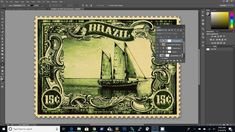 How To Create A Vintage Postage Stamp Photoshop Tutorial - TTV Photography 101 Cool Photoshop, Photoshop Tutorial, Photoshop Actions, Photoshop Video, Photoshop For Photographers, Photoshop Photography, Photography 101, Photo Manipulation, Postage Stamps