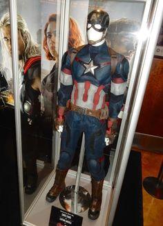 Chris Evans Captain America film costume Avengers: Age of Ultron