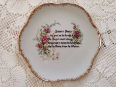 Serenity Prayer Plate, Collector Plate, Serenity Prayer Wall Plate. Religious Wall Plate, Lugenes Japan, by VintageChinaShoppe on Etsy https://www.etsy.com/listing/227705248/serenity-prayer-plate-collector-plate
