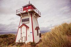 Covehead Lighthouse, Prince Edward Island, Canada - #ExploreCanada #PEI by kk+, via Flickr