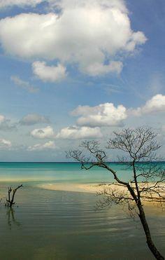 divide - Havelock island, Andaman and Nicobar Islands