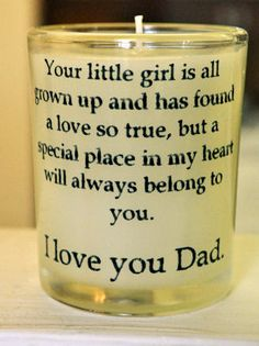 Dads and Daughters @Nicole Novembrino Novembrino Novembrino Gaul I have pinned a million wedding ideas if you look on my wedding board...