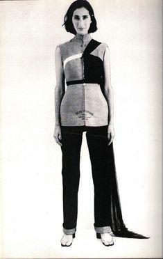 Maison Martin Margiela Printemps 1997 Les formes de robe