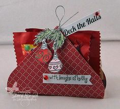Deck the Halls with kisses by Twinshappy - Cards and Paper Crafts at Splitcoaststampers