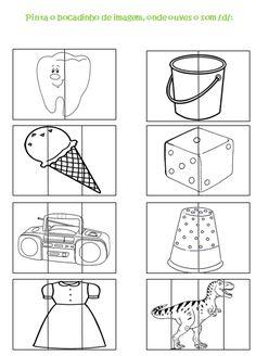 Casulo_ Materiais de Terapia da Fala: Pinturas com o som D!