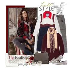 """Fall Style With The RealReal: Contest Entry"" by goreti ❤ liked on Polyvore featuring Balenciaga, Prada, The Row, Burberry, Nina Ricci and Chanel"