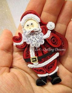 Quilling......Weihnachtsmann