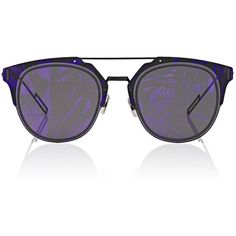 "Dior Homme Men's \""Dior Composit 1.0\"" Sunglasses (18 305 UAH) ❤ liked on Polyvore featuring men's fashion, men's accessories, men's eyewear, men's sunglasses, black, mens eyewear, christian dior mens sunglasses, mens sunglasses and men's mirrored sunglasses"